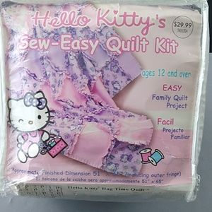 Hello Kitty  Sew-Easy-Quilt Kit ages 12 and over